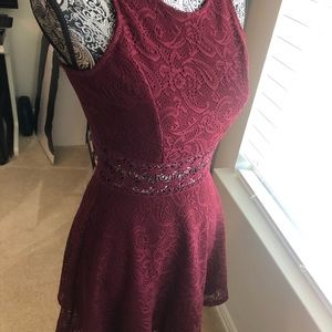 A red dress from Charlotte Russe